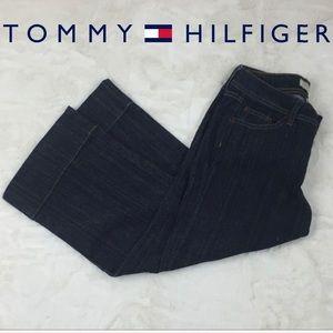 Tommy Jeans Hemmed Wide Leg Jeans Size 3 Juniors